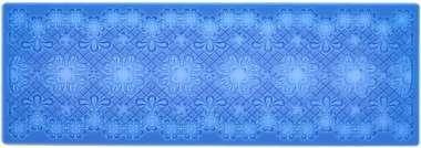 45580 Texturmatte Blütenband