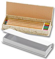 510523 Stiftebox weiss 19x6,8x2,3cm