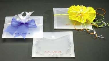 510560 Kuvert PP  halbtransparent  160x160mm