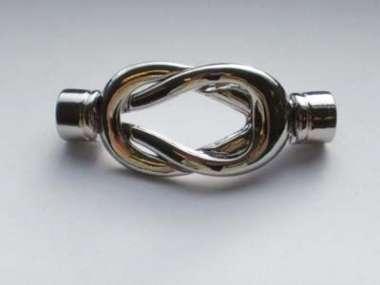 521139 Magnetverschluss  4.7cm / D5.3mm silber