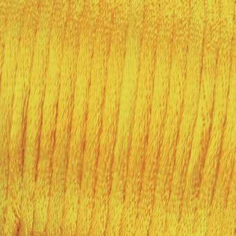 523012 Satinkordel 2mm/6m hellgelb