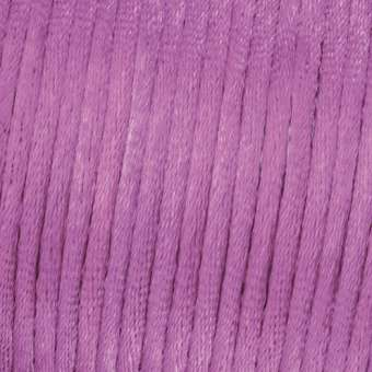 523020 Satinkordel 2mm/6m violett
