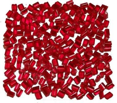 524140 Schmelzgranulat rot