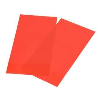 525813 Color-Dekor 180°C,10x20cm,2 St. orange