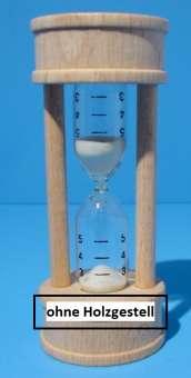 557503 Sanduhrglas mit Skala 7cm/D.16mm