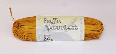 561091 Natur-Raffiabast 20g gelb