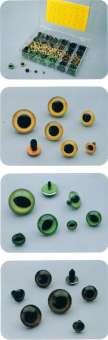 572208 Plexiglas-Augen  8mm gelb