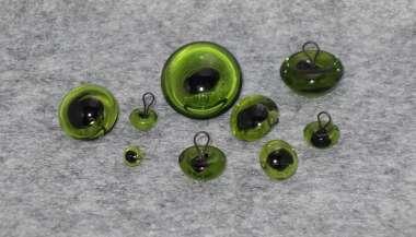 573724 Glasaugen 24mm grün