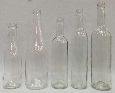 581015 Champagnerflasche 0.375 liter H22.5/ D6.5