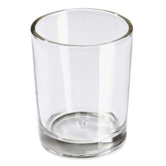 581050 Teelichtglas zylindrisch H6,5cm / D5,5