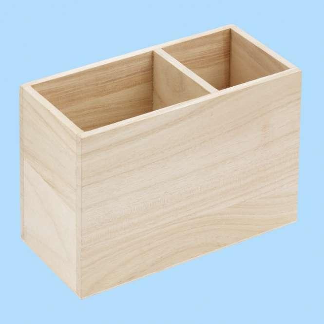 3270165 Holz Stiftebox 16x8x11cm
