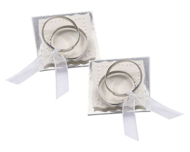 3451020 Sticker Ringe Metall silber 3St*
