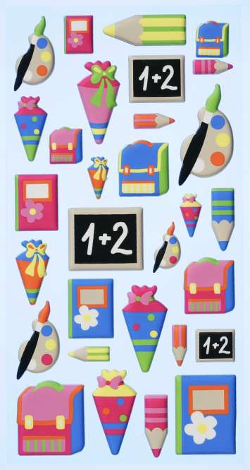 3451122 Sticker Schule                 *