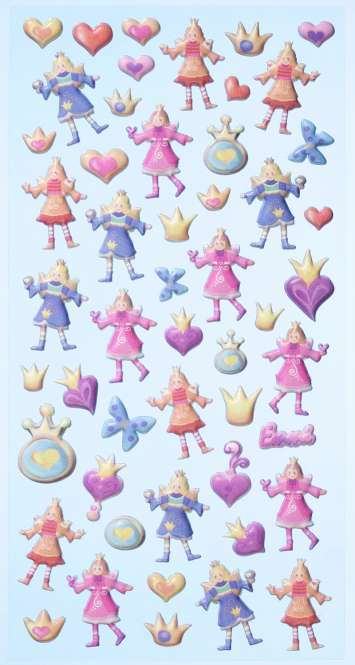 3451135 Sticker Prinzessin
