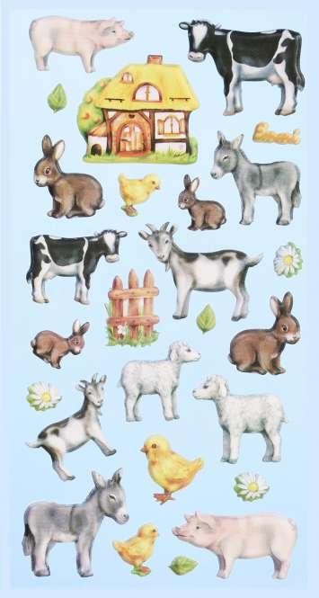 3451163 Sticker Bauernhof-Tiere