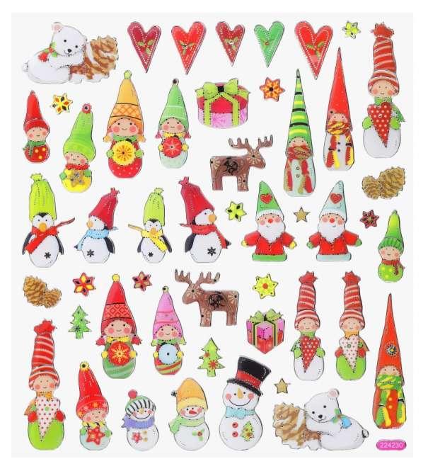 3452394 Design Sticker Weihnachten VII