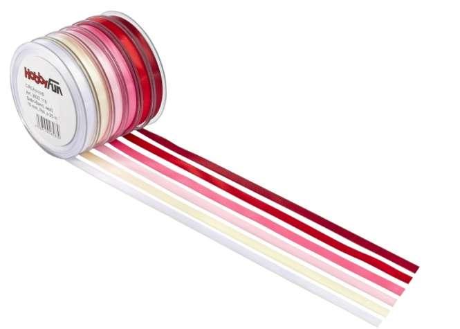 3822202 VelourLederband 3mmx25m rosa