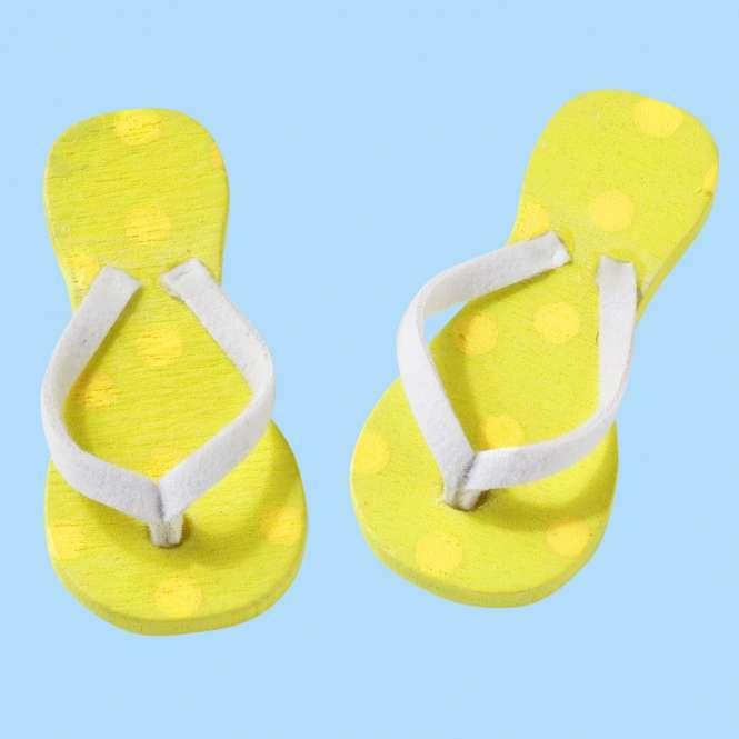 3860625 Flip-Flops 3cm gelb Btl. à 2Paar