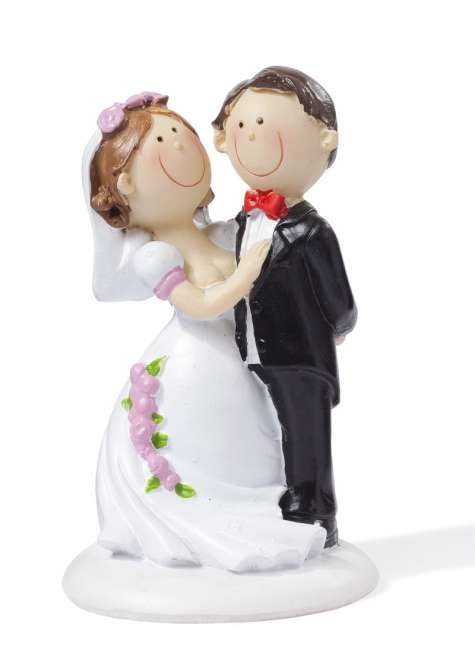 3870002 Hochzeitspaar II   9cm
