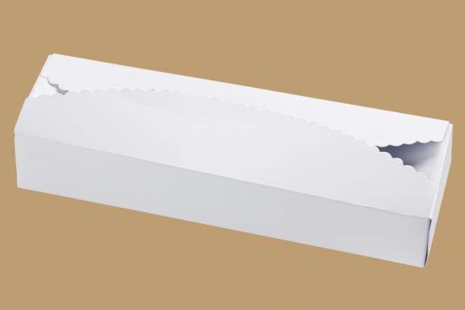3964107 Papier-Box, weiss, 225x70x40, 2St.