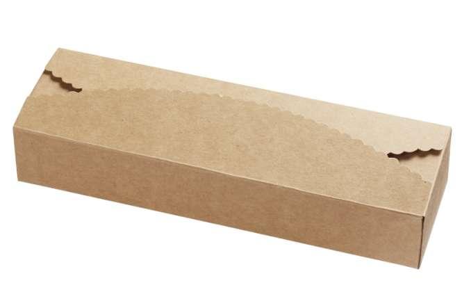 3964108 Papier-Box, natur, 225x70x40, 2St.