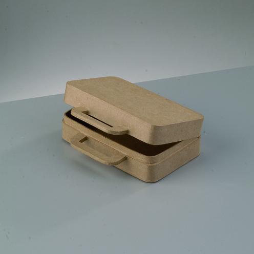 510539 Koffer PappArt Box 16x12x5cm
