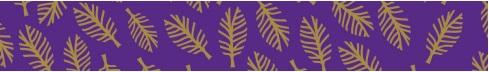 520285 Washi Tape Federn violett 1.5cm/10meter