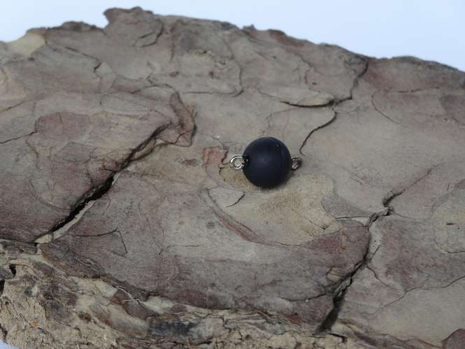 521391 Magnetverschluss D.10mm schwarzmatt