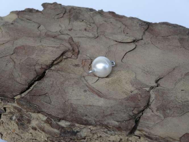 521392 Magnetverschluss D.10mm perlmutt matt