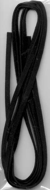 522805 Velourband 5mmx2m schwarz