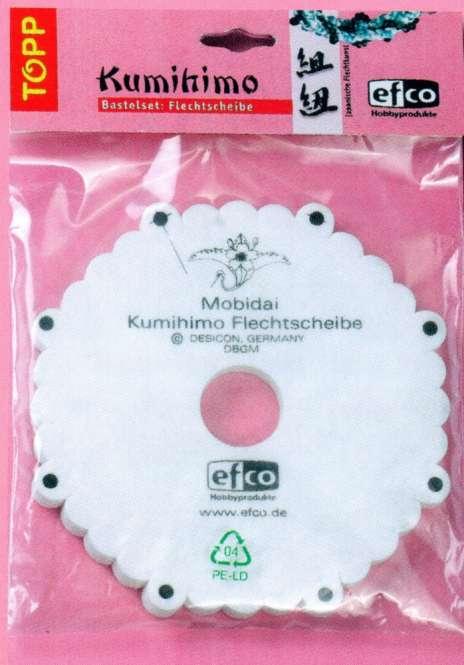 523001 Kumihimo Flechtscheibe