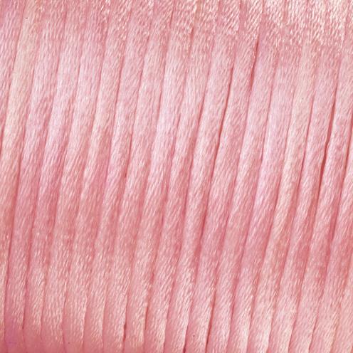 523018 Satinkordel 2mm/6m rosa