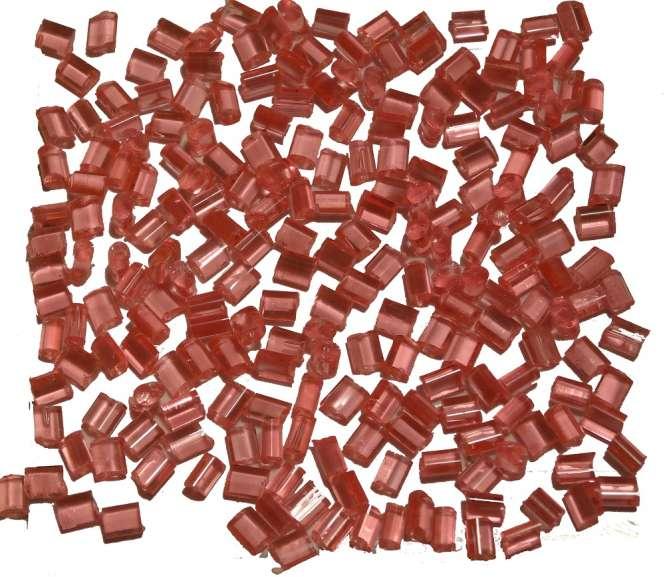 524145 Schmelzgranulat rosa