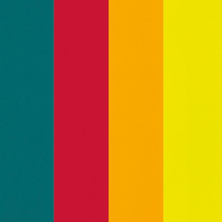 525803 Color-Dekor 180°C,10x20cm,4 St. 4-farbig sortiert