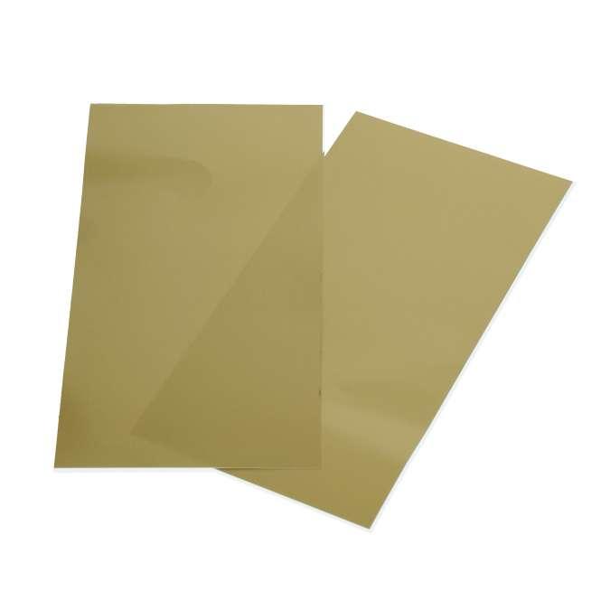 525823 Color-Dekor 180°C,10x20cm,2 St. gold