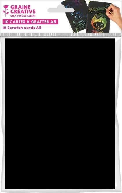 530017 Kratzpapier A5, 10Stk