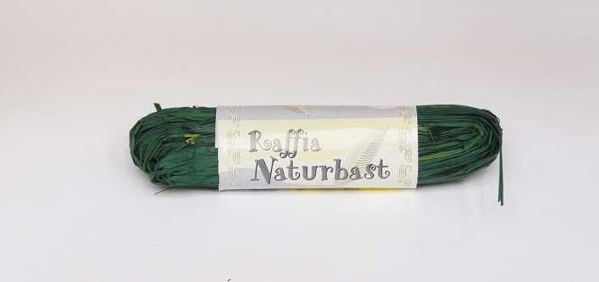 561097 Natur-Raffiabast 20g grün