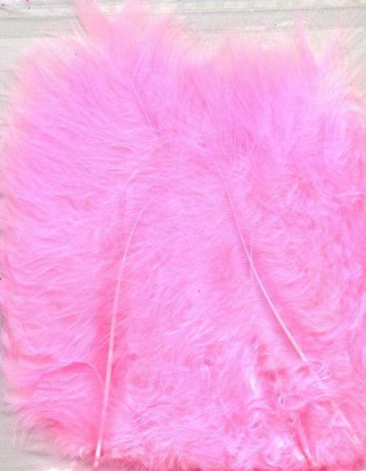 565955 Marabufedern 15St. rosa
