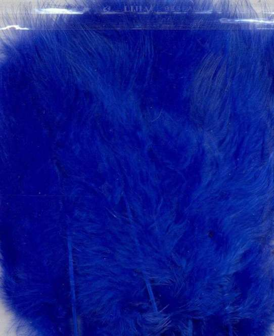 565959 Marabufedern 15St. blau