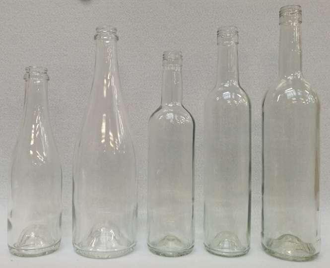581019 Weinflasche 0.75 liter H32/ D7cm/