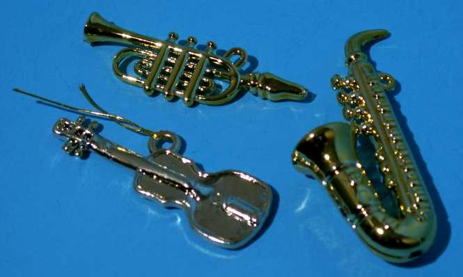 587601 Trompete gold 4.5cm