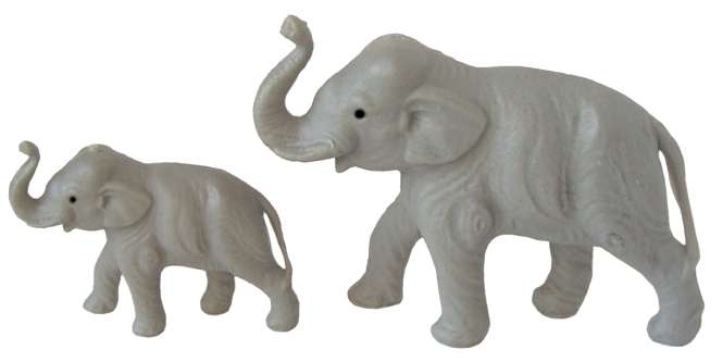588078 Elefant m. Augen 5cm