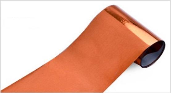 71000.34 Klebe Transferfolie 4cm/100cm  KUPFER